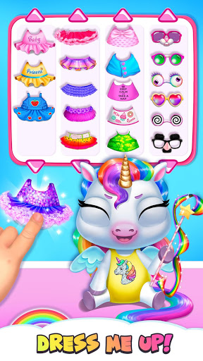 My Baby Unicorn - Virtual Pony Pet Care & Dress Up 2 تصوير الشاشة