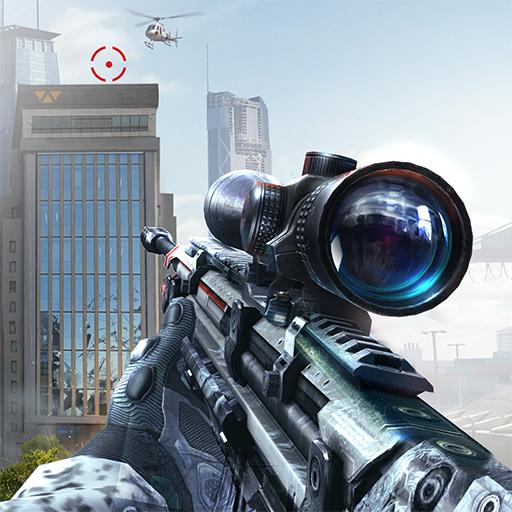 Sniper Fury: Online 3D FPS & Sniper Shooter Game أيقونة