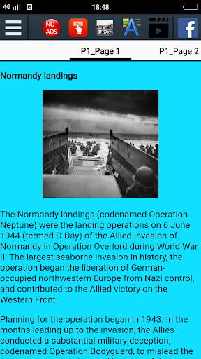 D-Day History screenshot 2