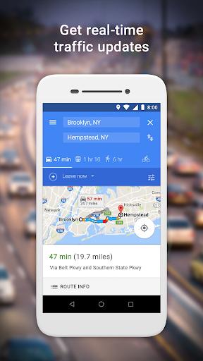 Google Maps Go - Directions, Traffic & Transit screenshot 2