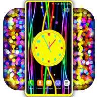 3D Neon Clock Live Wallpaper ❤️ Clock Wallpapers on 9Apps