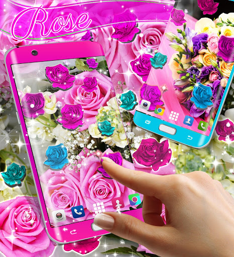 Best rose live wallpaper 2021 скриншот 3