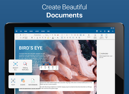 OfficeSuite - Word docs, Excel, PowerPoint & PDF screenshot 8