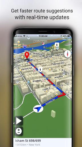 GPS Live Navigation, Maps, Directions and Explore screenshot 4
