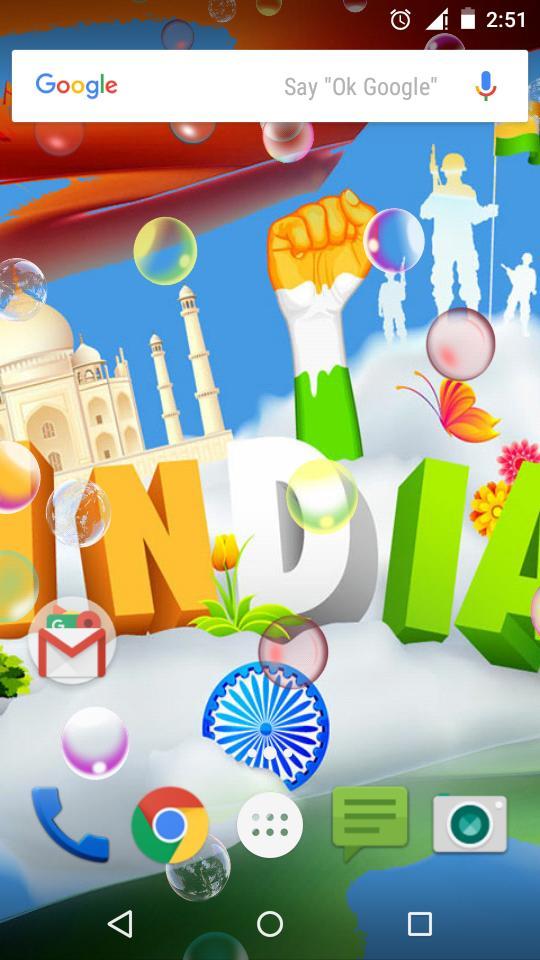Great India Live Wallpaper screenshot 4
