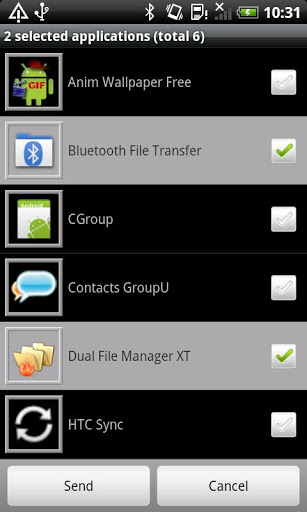 Bluetooth File Transfer screenshot 8
