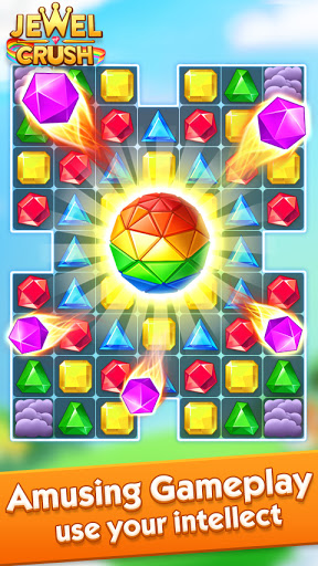 Jewel Crush™ - Jewels & Gems Match 3 Legend screenshot 4
