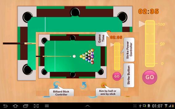 Snooker game screenshot 5