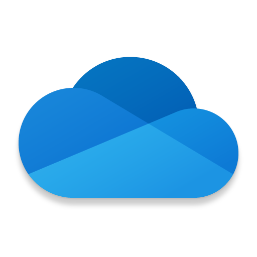 تخزين سحابي – OneDrive أيقونة