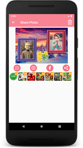 Family Dual Photo Frames screenshot 7
