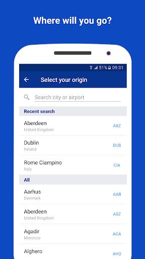 Ryanair - Cheapest Fares screenshot 5