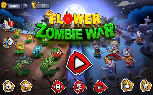 Flower Zombie War screenshot 1