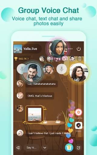 Yalla - Free Voice Chat Rooms screenshot 3