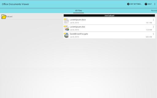 Office Documents Viewer screenshot 5