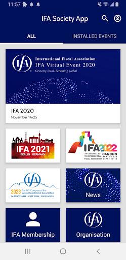 IFA App 1 تصوير الشاشة