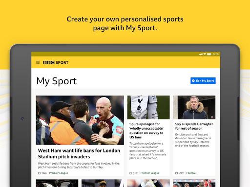 BBC Sport - News & Live Scores 14 تصوير الشاشة