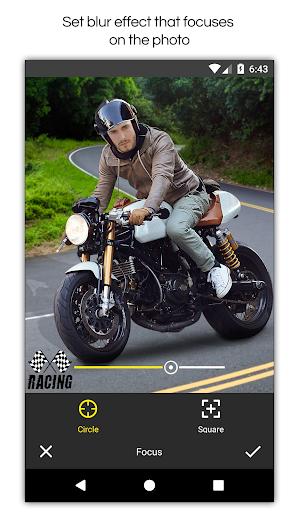 Man Bike Rider Photo Editor screenshot 9