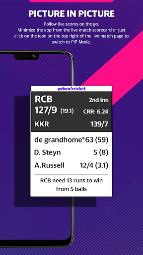 Yahoo Cricket App - Live Cricket Scores & News screenshot 3