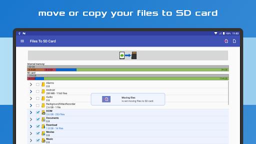 Files To SD Card 10 تصوير الشاشة