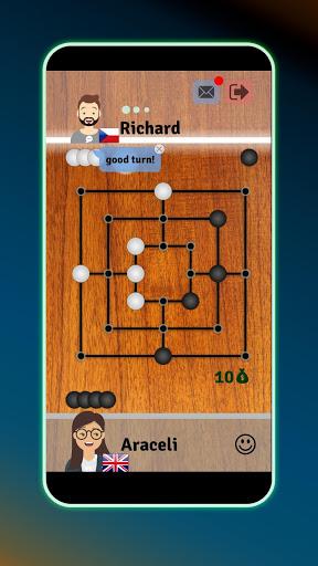 Mills | Nine Men's Morris - Free online board game screenshot 1