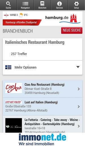 Hamburg App स्क्रीनशॉट 5