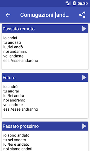 Italian Dictionary - Offline 3 تصوير الشاشة