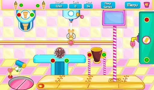Memasak Kue Mangkok Es Krim screenshot 8