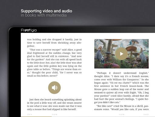 eReader Prestigio: Lettore screenshot 18