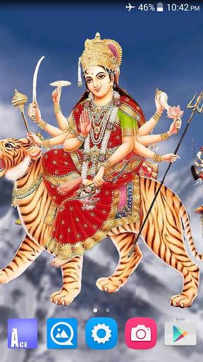 4D Maa Durga Live Wallpaper 1 تصوير الشاشة