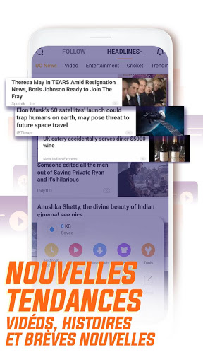 UC Browser - Naviguez vite screenshot 6