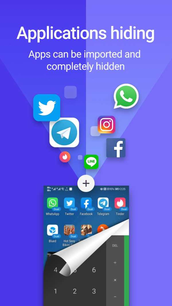 App Hider- Hide Apps Hide Photos Multiple Accounts screenshot 3