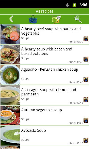 Soup recipes 2 تصوير الشاشة