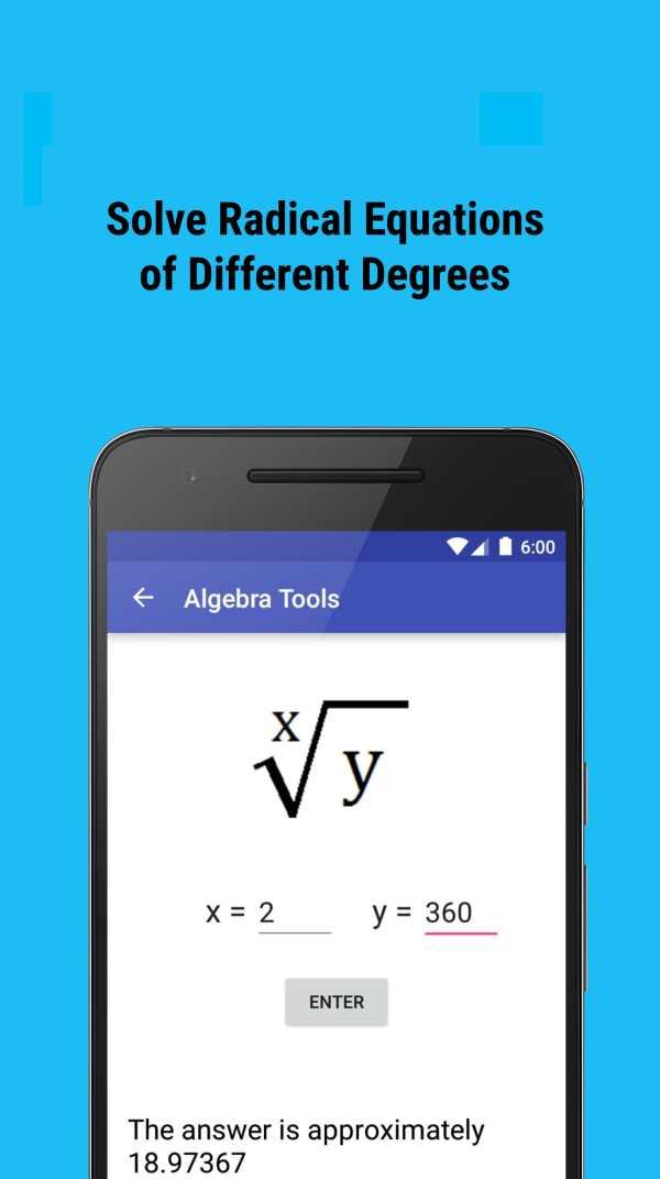 Algebra Tools screenshot 7