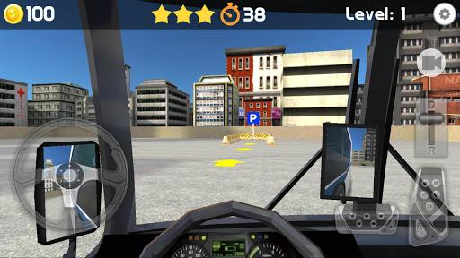 Bus Parking 3D 2 تصوير الشاشة