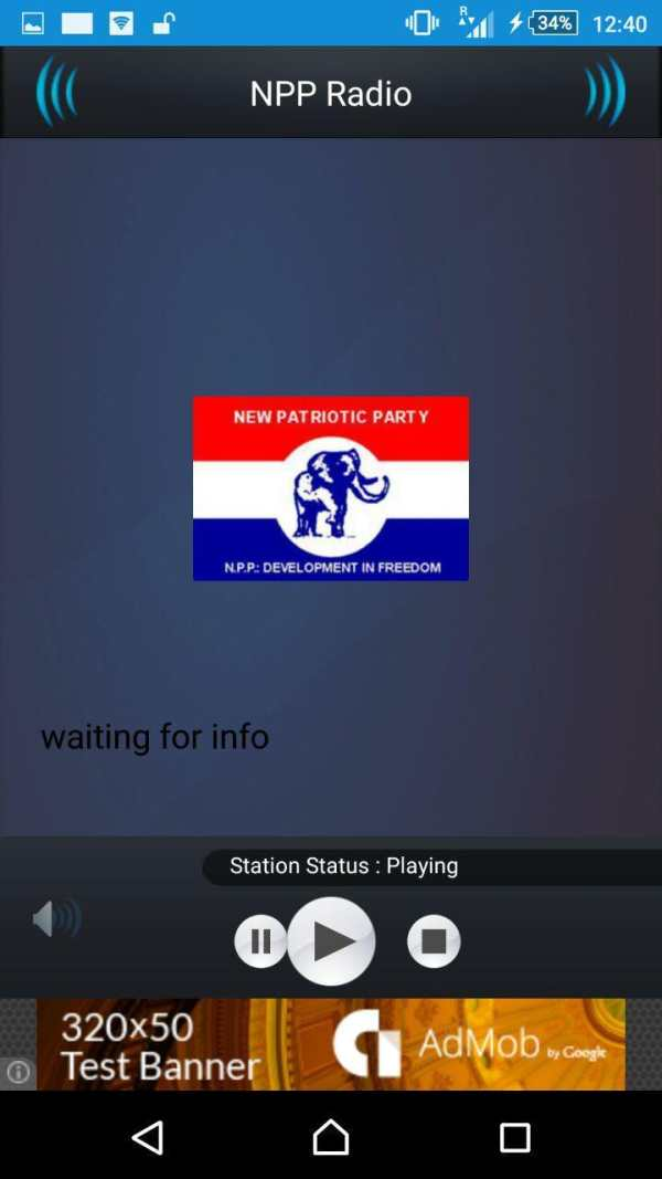 NPP RADIO screenshot 2