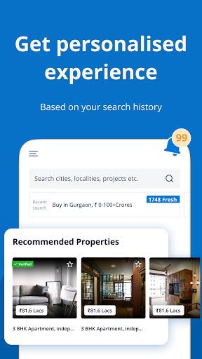 99acres Real Estate & Property 3 تصوير الشاشة