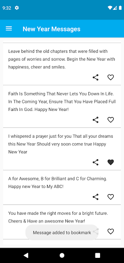 2021 New Year Messages screenshot 4