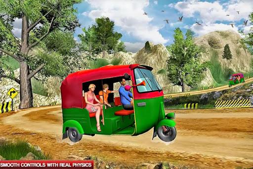 Mountain Auto Tuk Tuk Rickshaw : New Games 2021 स्क्रीनशॉट 4