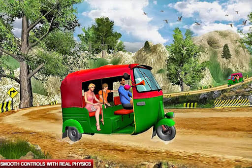 Mountain Auto Tuk Tuk Rickshaw : New Games 2020 screenshot 4