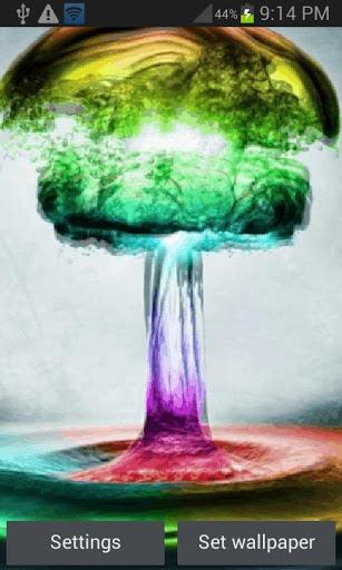Colorful Water Live Wallpaper screenshot 1