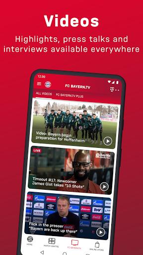 FC Bayern München - football news & live scores 5 تصوير الشاشة