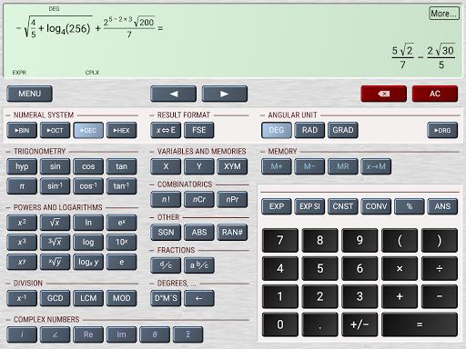 HiPER Scientific Calculator screenshot 13