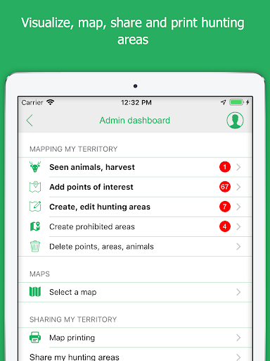 Hunting Map, the GPS for hunters screenshot 13