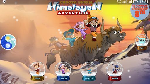 ChhotaBheem HimalayanAdventure 8 تصوير الشاشة