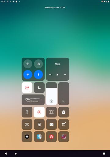 Control Center IOS 13 - Screen Recorder screenshot 10