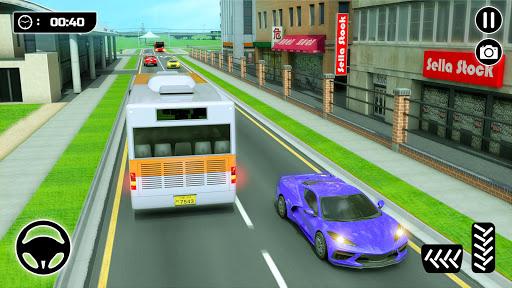 الباص ألعاب ٢١ : مدينة مدرب حافلة القيادة محاكاة 4 تصوير الشاشة