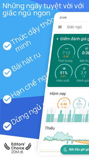 Sleep as Android 💤 Theo dõi giấc ngủ, chu kì ngủ screenshot 1