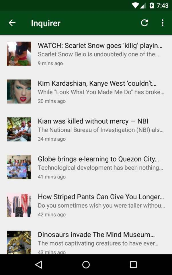 Top News Philippines - OFW Pinoy News, Scandal screenshot 3