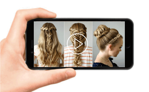 School Hairstyles Step By Step, Braiding Hairstyle screenshot 3