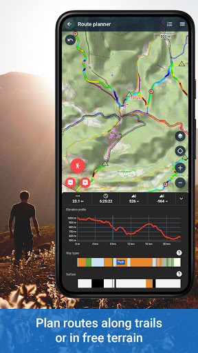 Locus Map 4: Hiking&Biking GPS navigation and Maps screenshot 2